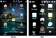 Changes to Windows Mobile 6.5