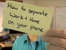 Office Casual - How to seperate work and home on your phone