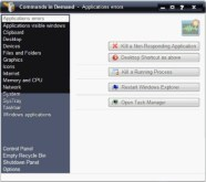 Commands in Demand Provides Easy Access to Geeky Tools