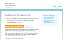 Do You Have Swine Flu? New Online Resource Helps You Find Out