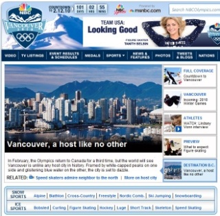 NBC Winter Olympics on Silverlight