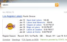 NBA Instant Answers Comes to Bing