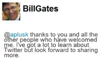 Yep, That's Bill Gates on Twitter