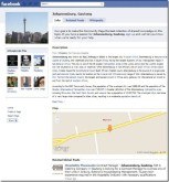 Facebook Community Pages Feature Bing Maps