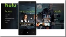 Hulu App Concept for Windows Phone 7