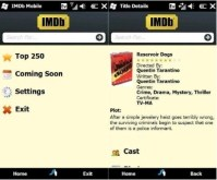 Windows Mobile Gets an IMDB App
