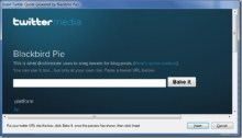 New Windows Live Writer Plugin: Twitter Blackbird Pie