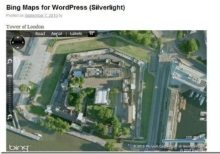 A Second Bing Maps Wordpress Plugin