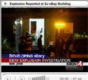 Explosion at Ebay/PayPal offices on Halloween