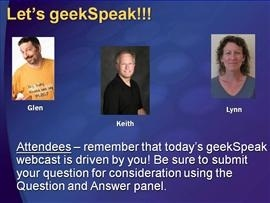 geekSpeak recording: Web Application Security with Keith Brown