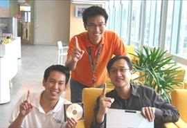 First on Office 2007 in Singapore (Maybe Even APAC) - Vincent Oh Gives Us a Quick Tour...