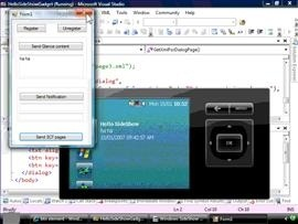 Windows SideShow Gadgets in C#