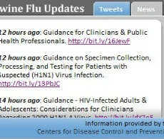 Swine Flu (H1N1) Tracker Web Slice Released