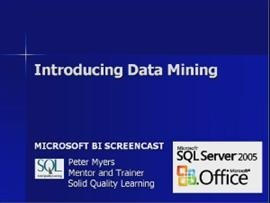 Business Intelligence #12a: Introducing Data Mining