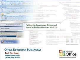 Anonymous Access and Forms Authentication with WSS 3.0