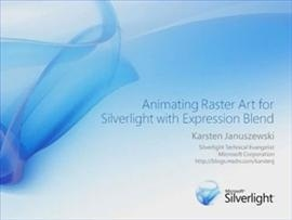 Animating Raster Art for Silverlight with Expression Blend