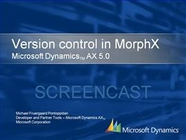 Version control in MorphX