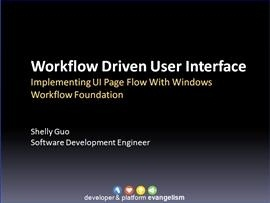 Introduction to the Windows Workflow Foundation Pageflow sample