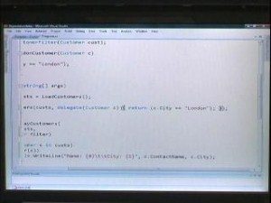 C9 Bytes: Alex Turner showing the evolution of C#