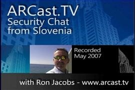 ARCast.TV - Security Chat from Slovenia