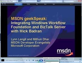 geekSpeak WF and BizTalk with Mick Badran