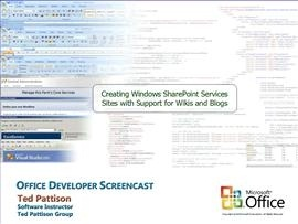 Creating Windows SharePoint Services Sites with Support for Wikis and Blogs