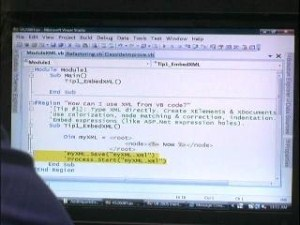 C9 Bytes: Lisa Feigenbaum on Visual Basic 2008 IDE Enhancements