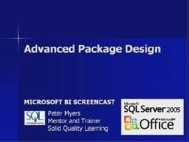 Business Intelligence #04c: Advanced Package Design