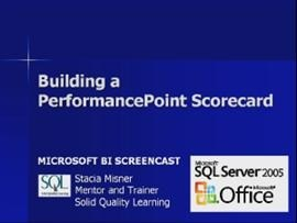 Business Intelligence #14a: Building a PerformancePoint Scorecard