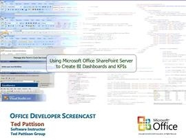 Using Microsoft Office SharePoint Server to Create BI Dashboards and KPIs