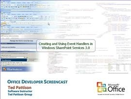 Creating and Using Event Handlers in Windows SharePoint Services V3