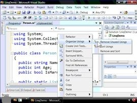 VS2008 designed for Vista with better aesthetics and usability