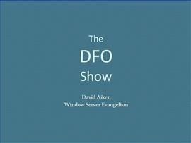 The DFO Show - Introducing Windows PowerShell