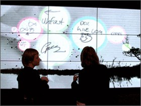 WPF based Microsoft Interactive Canvas wins Design Week award