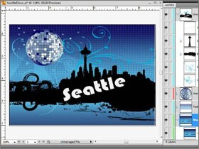 Importing Adobe Illustrator and Photoshop files in Expression Blend 3
