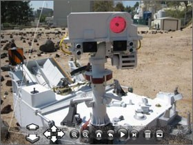 NASA Photosynths of the Space Station and Mars Rover released in Silverlight