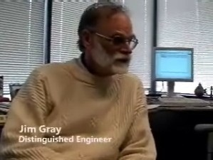 Jim Gray - A talk with THE SQL Guru and Architect