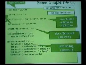 Don Syme: Introduction to F#, Part 2
