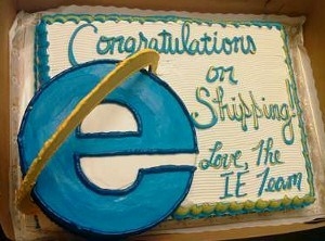 IE Team to Mozilla: Congratulations!