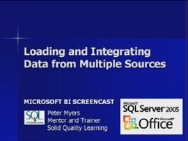 Business Intelligence #03a: Loading and Integrating Data from Multiple Sources