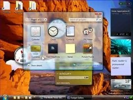 Introducing Windows Vista Sidebar and developing a gadget