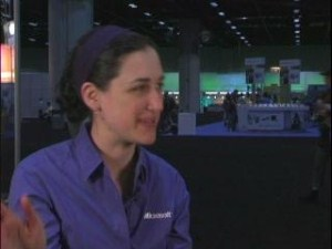 TechEd Amanda Silver on Visual Basic 2008 and VB in the future