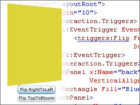 3D Postcard Flip Behavior for Silverlight from Joel Neubeck