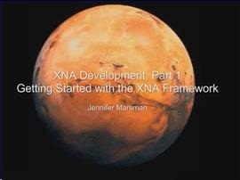 XNA Development Part 1 Getting Started with the XNA Framework