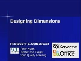 Business Intelligence #09a: Designing Dimensions
