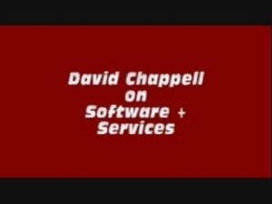 David Chappell Interview on Software+Services development