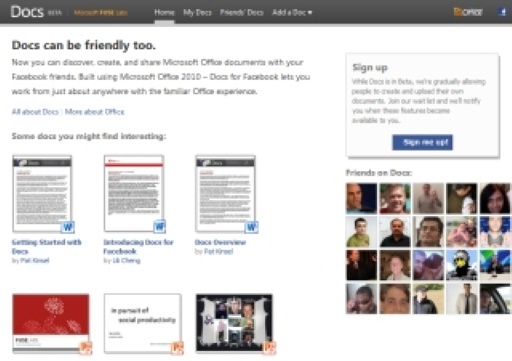 Microsoft Docs Come to Facebook