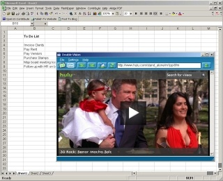 Watch TV in Microsoft Office