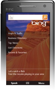 Bing for Windows Mobile Updated