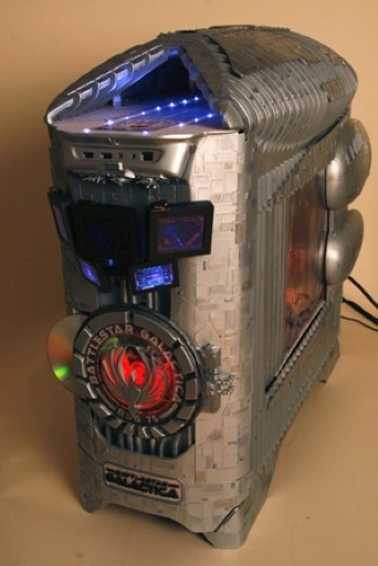 Coolest Mod Ever: A BSG-Themed PC